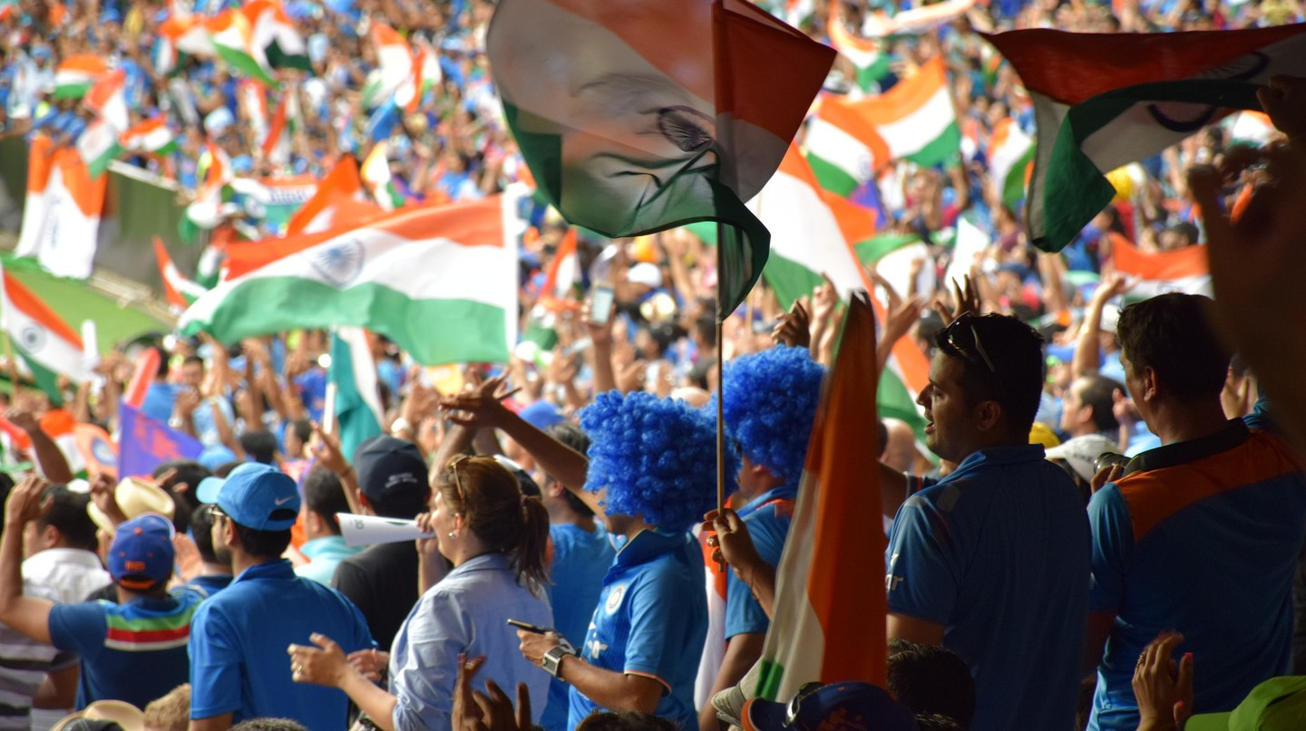 Indian cricket fans during the 2015 World Cup | © Tourism Victoria / Flickr