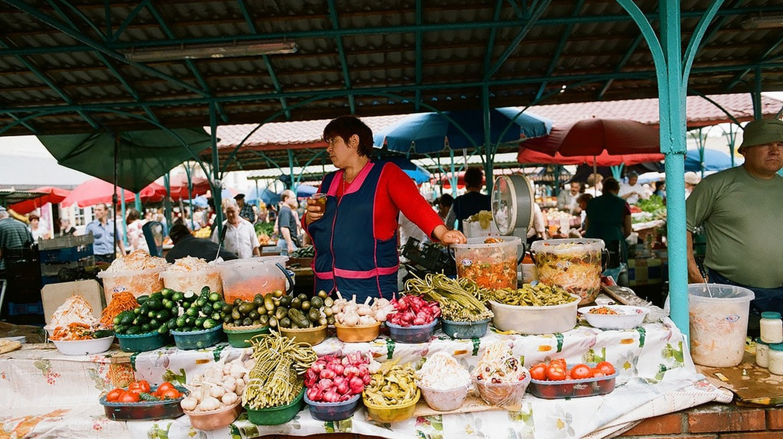 A Russian market | ©Eugene Luchinin / Flickr