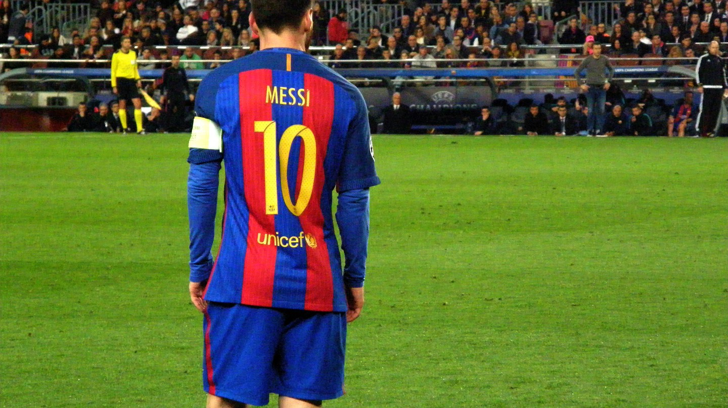 Lionel Messi for FC Barcelona © Hugo Pérez Marsol