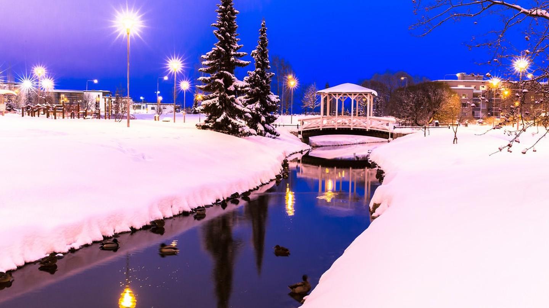 Finland in winter   © Visit Lakeland / PhotoPin