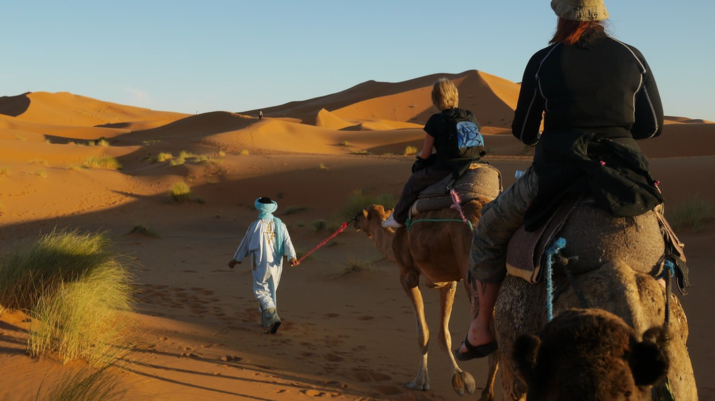 Morocco is an exciting country for backpackers