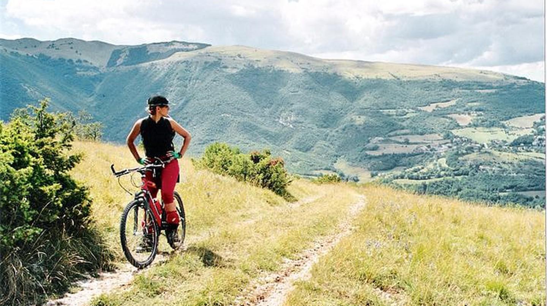 Biking in Monte Sibillini ©G. Grifoni/WikiCommons