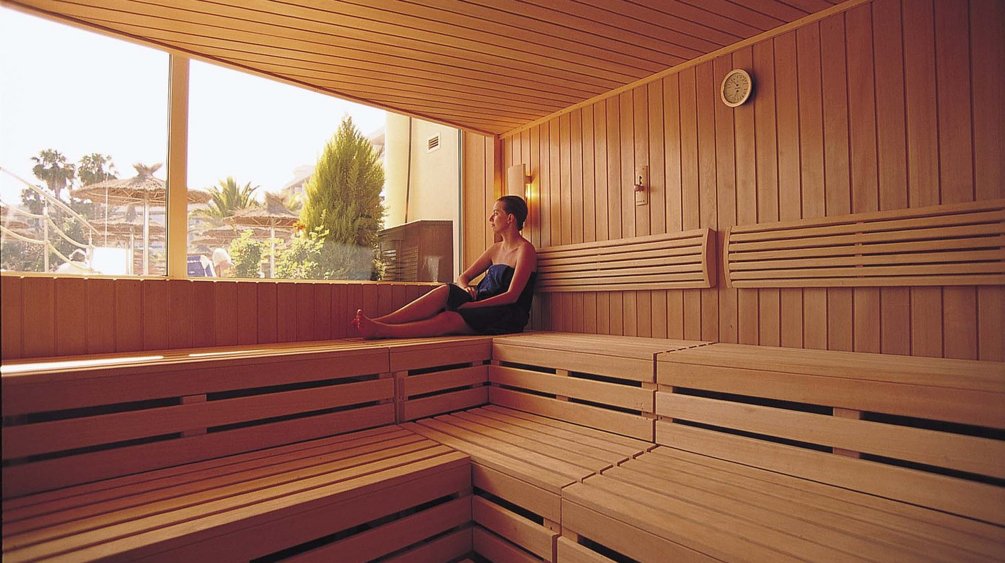 Sauna interior | © VIK Hotels Group / Flickr