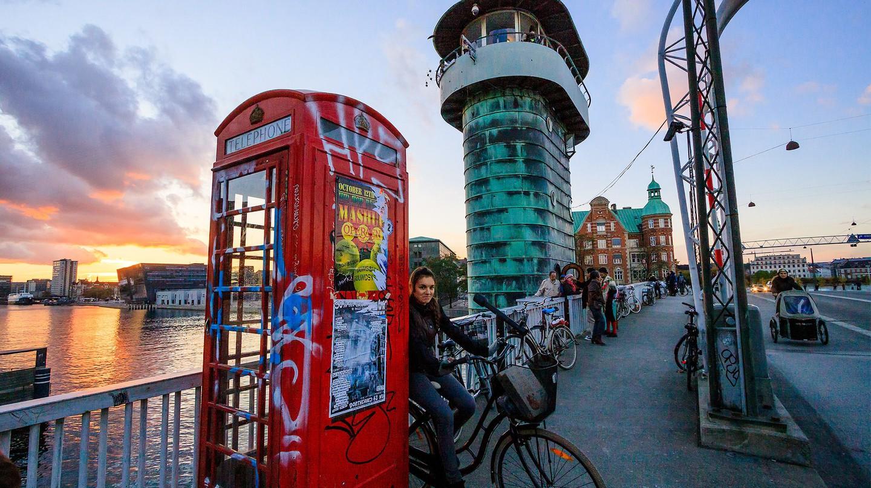 Knippelsbro, Telephone booth |© Styg Nygaard / Flickr