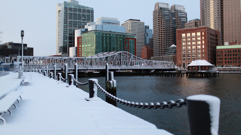 Winter Skyline, Boston   © Massachusetts Office of Travel and Tourism / Flickr