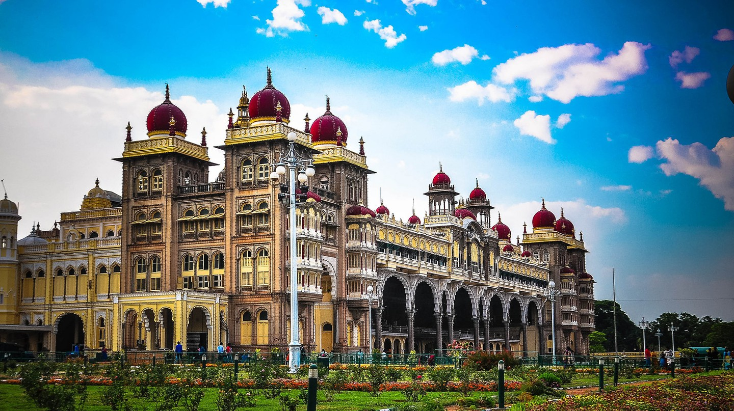 Mysore Palace is among the grandest palaces in India