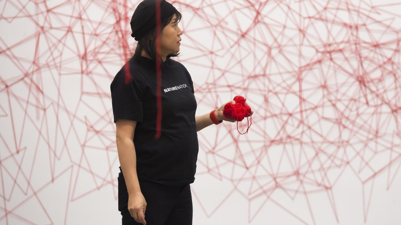 Portrait of Chiharu Shiota