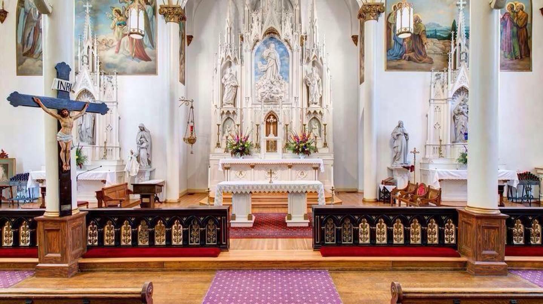 Inside the Church of The Assumption   © Church of The Assumption/Facebook