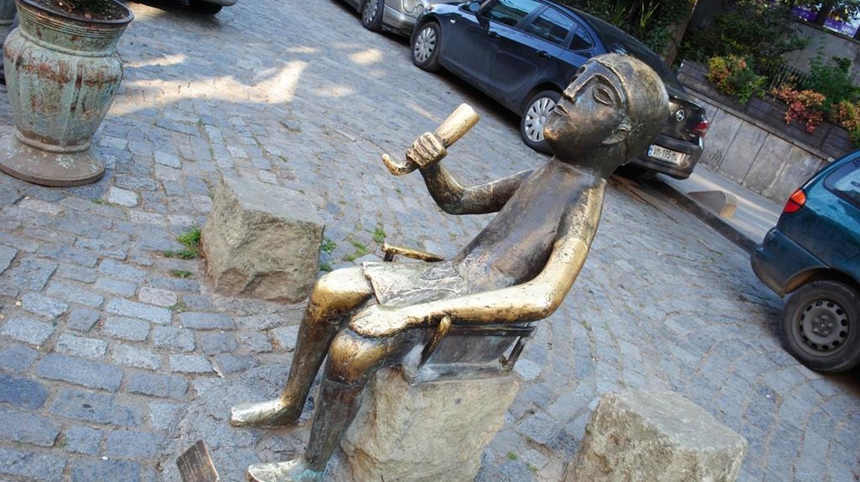 Statue of Tamada in Tbilisi | © Baia Dzagnidze