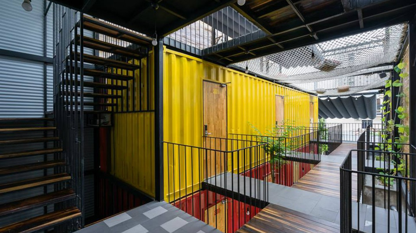 Container home | © Ccasa Hostel/Facebook