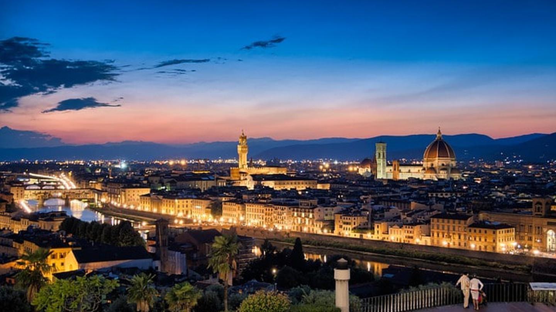Sunset over Florence|©MustangJoe/Pixabay