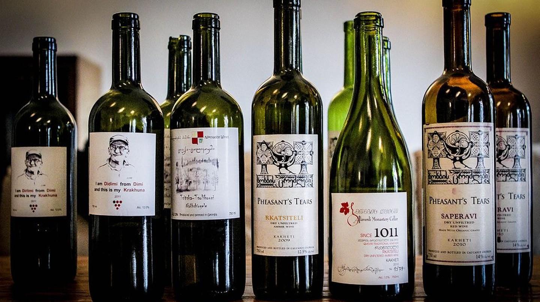 Variety of Georgian wines | © Revolweb / WikiCommons
