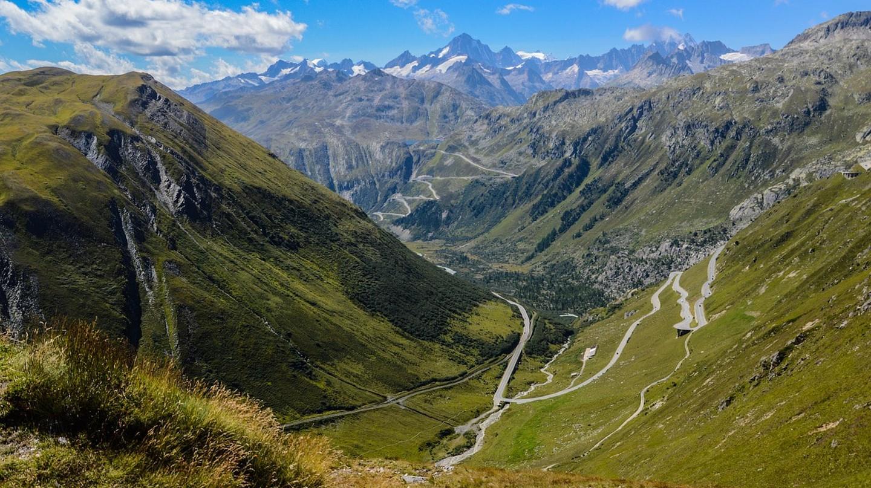 Gotthard Pass in Switzerland | © OrcaTec/Pixabay