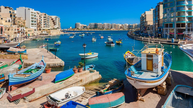 St. Julian's Bay, Malta