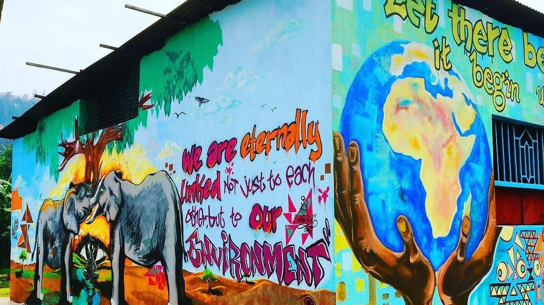 Murals in Rwanda | Courtesy of Kurema Kureba Kwiga