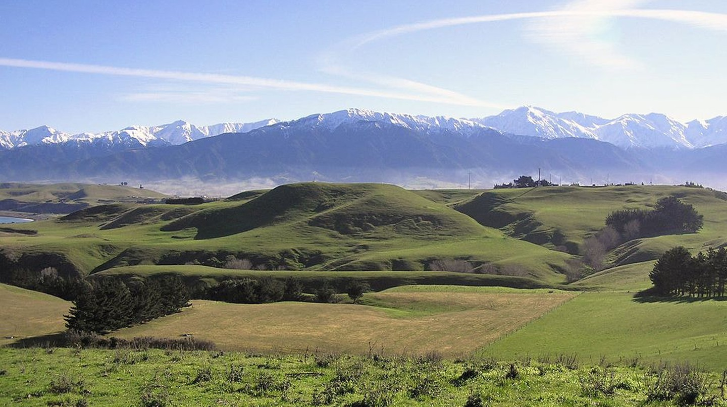 Kaikoura Peninsula and Mt Fyffe | © Wikimedia Commons