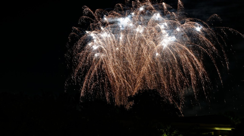Magnificent Fireworks Beach