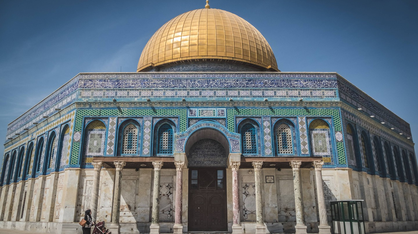 The Dome of the Rock is one of Jerusalem's most famous Islamic monuments, although it is actually a shrine and not a mosque | ©mauricio_artieda/Unsplash