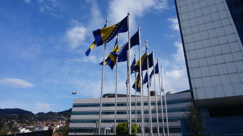 Bosnia Flag   © Sam Bedford