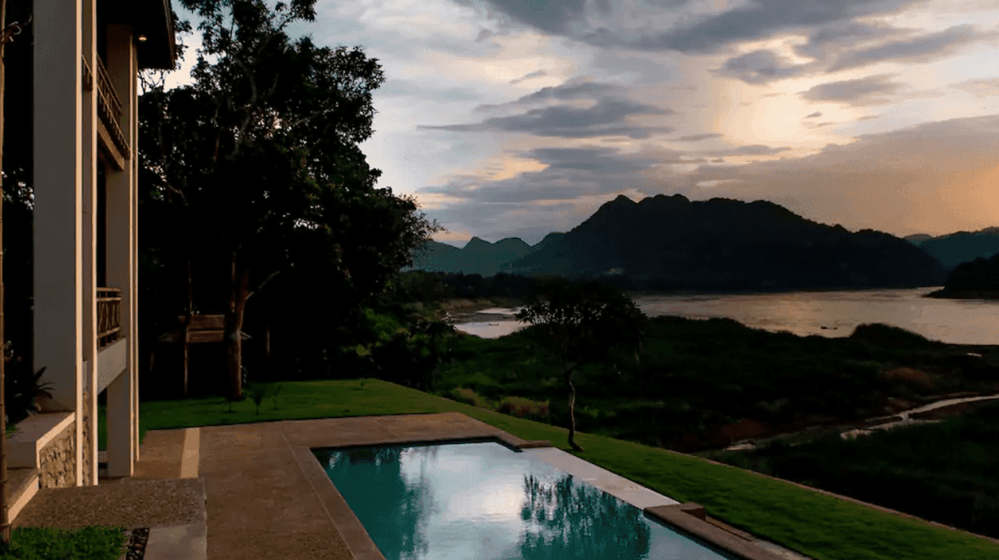 House with Pool on the Mekong | Permission granted from Image Owner