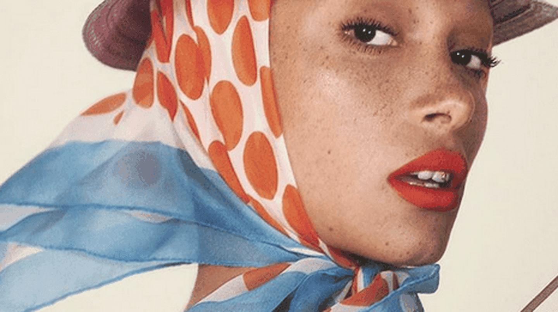 Adwoa Aboah for British Vogue | © Instagram @adwoadboah