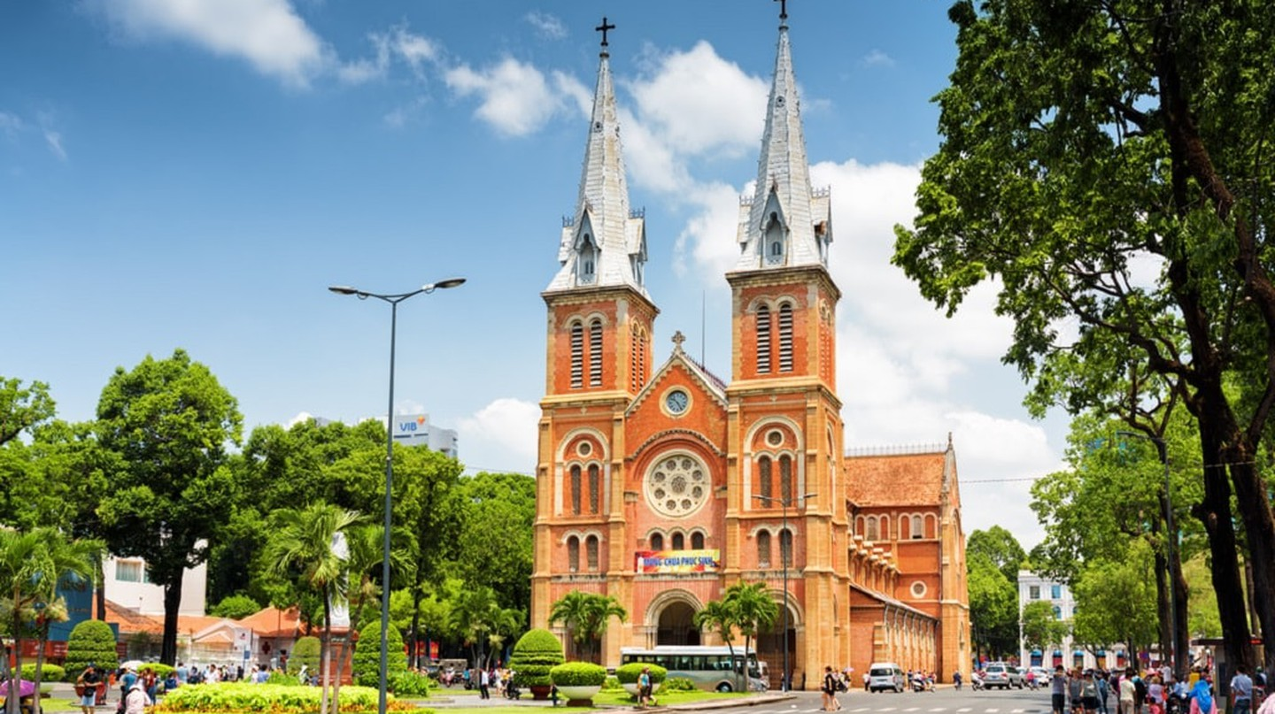 The crown jewel of French architecture in Vietnam | © Efired/shutterstock
