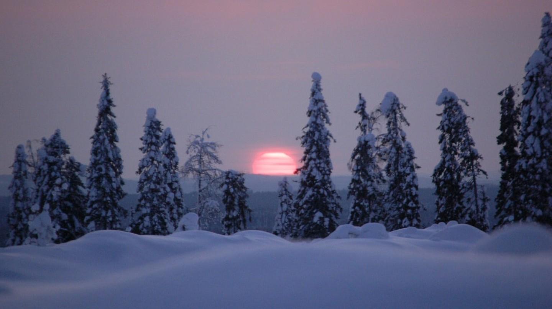 View of the sunset in Finland   © Teemu Vehkaoja / WikiCommons