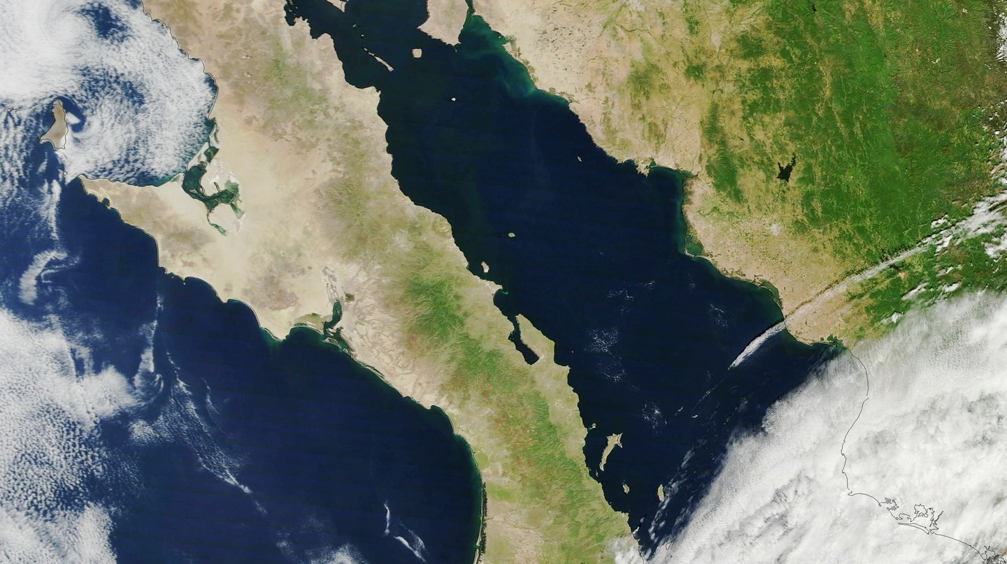 The Baja California Peninsula | © NASA Goddard Space Flight Center / Flickr