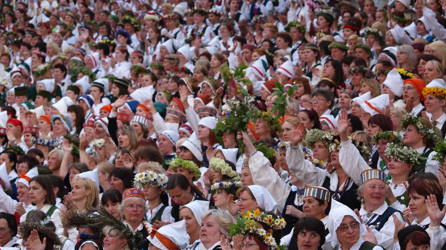 Latvian Song and Dance Festival | © Dainis Matisons / Flickr