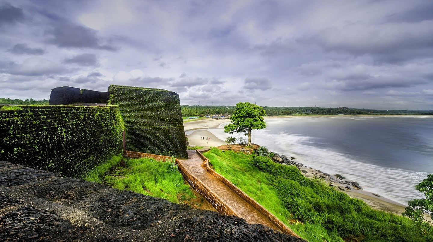 Bekal Fort is the largest fort in Kerala | © unknown/Pixabay