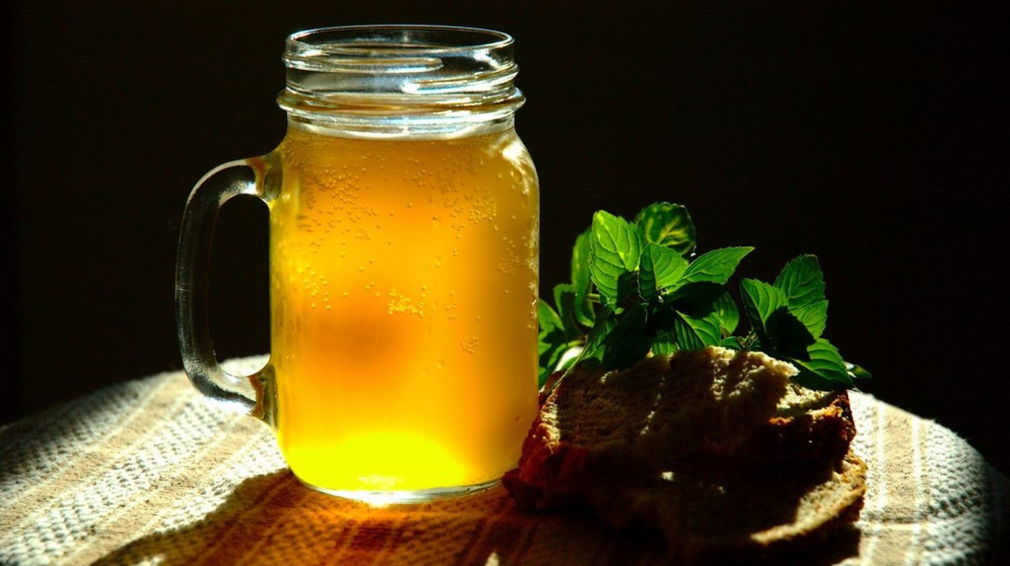 Mint bread kvass | © Mr. Icon / WikiCommons