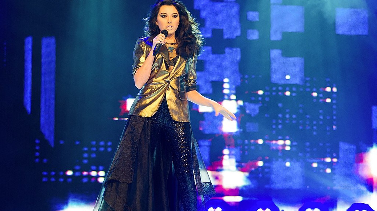 Safura Alizadeh performing in the Eurovision 2012 | © Vugarİbadov/WikiCommons