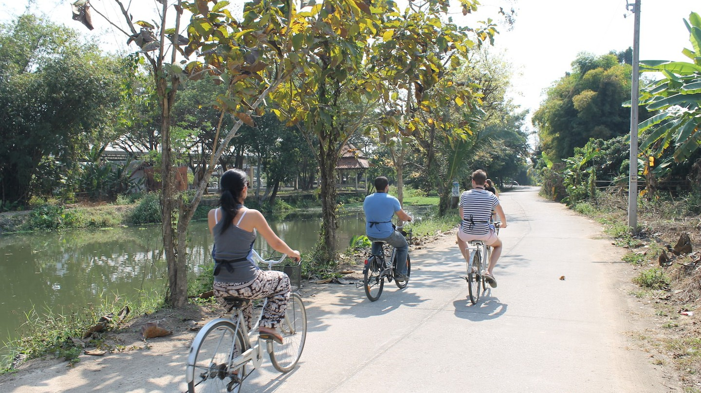 Cycling fun in Chiang Mai | © Connie/Flickr