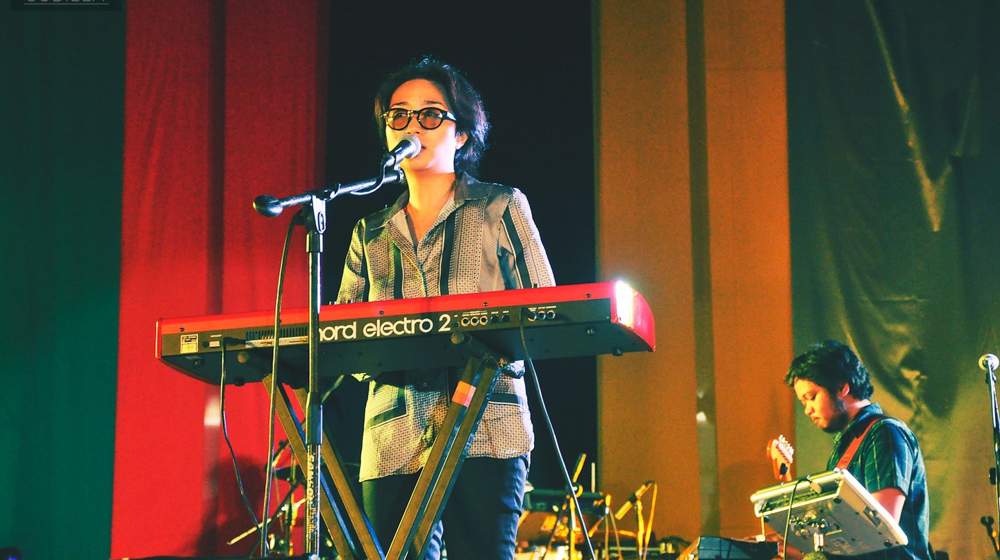 UDD at a gig in Letran Calamba