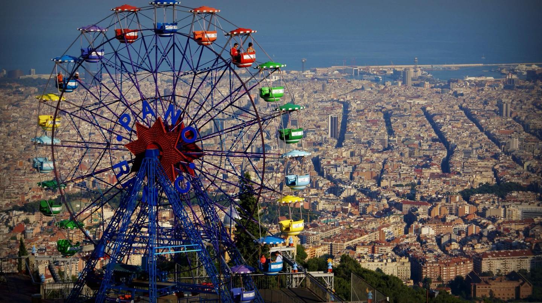Tibidabo Amusement Park   © Adriano Amalfi / Flickr