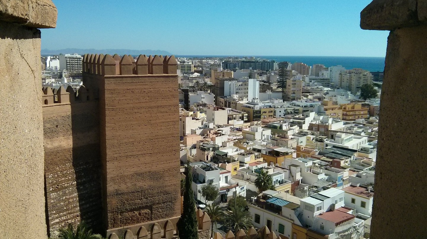 View of Almería from the Alcazaba | © Martin Stone/Flickr