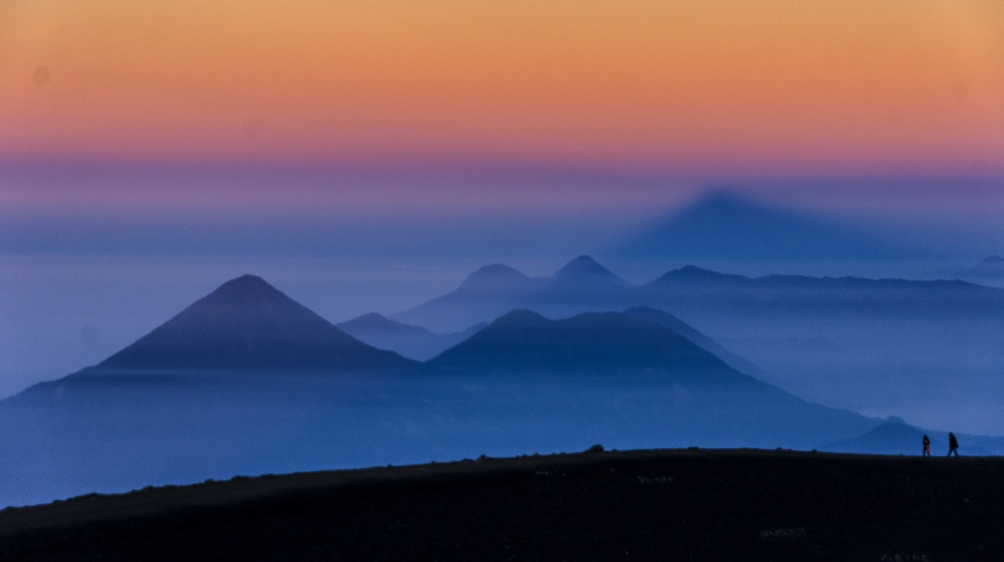 The view from Acatenango at dawn | © Pedro Santiago / Flickr