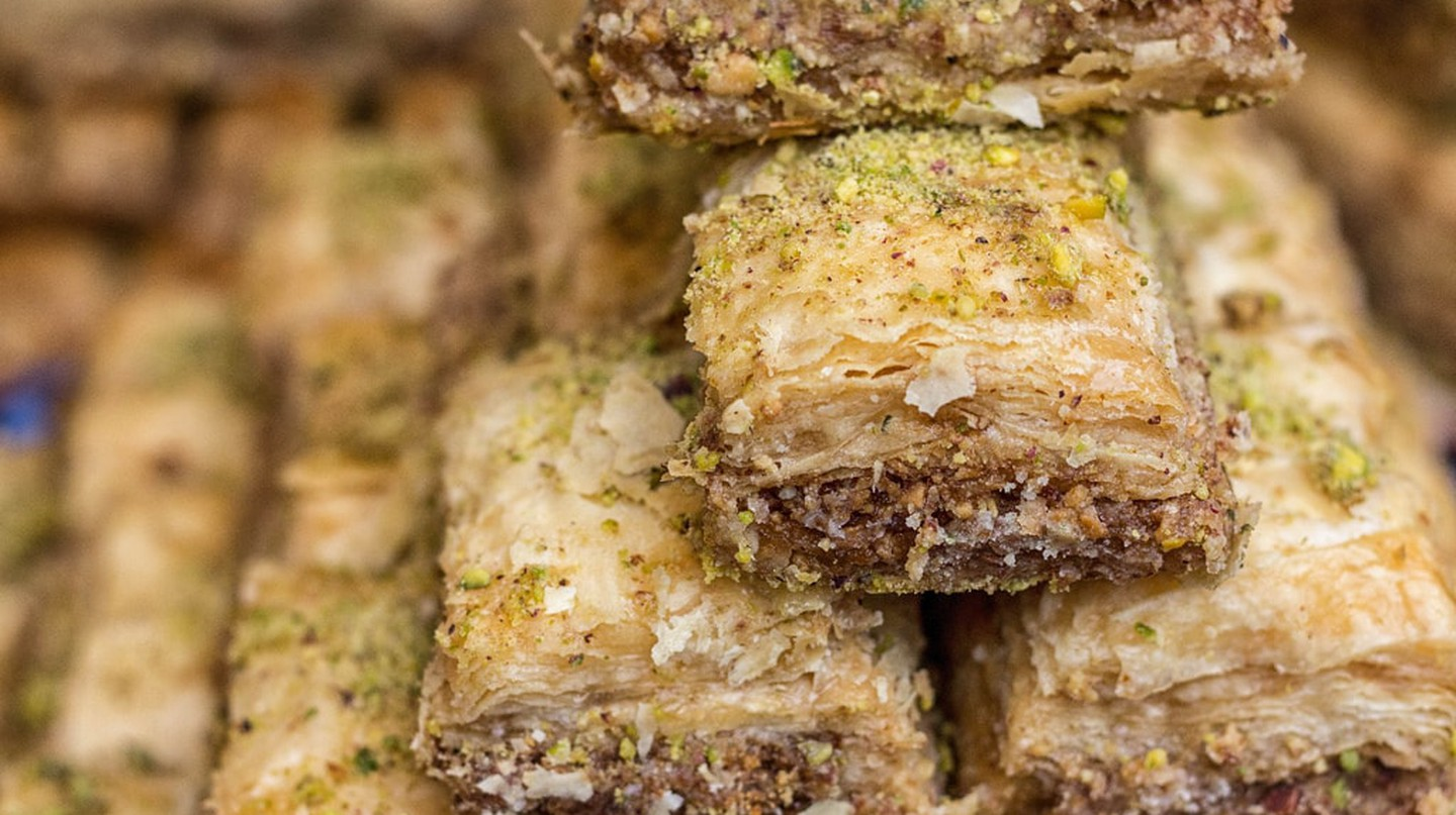 Baklava, the delicious Middle Eastern dessert | © Catherine Sharman / Flickr