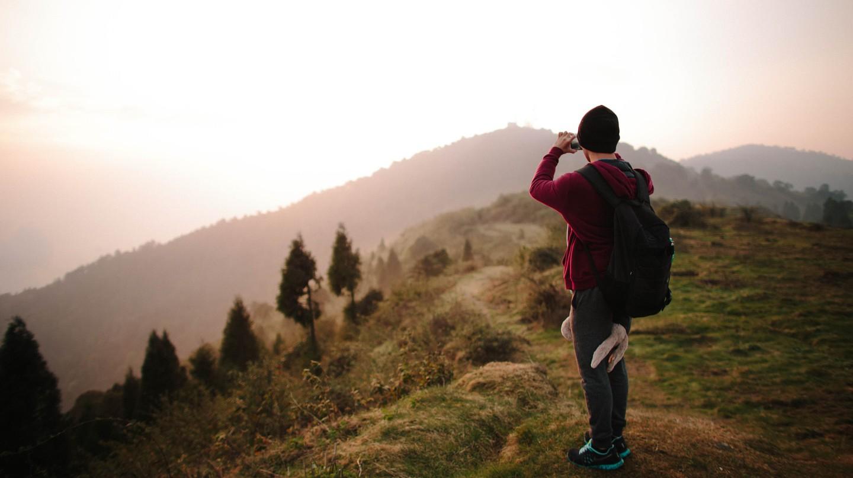 A traveller in Sikkim│© alcan_ / Flickr