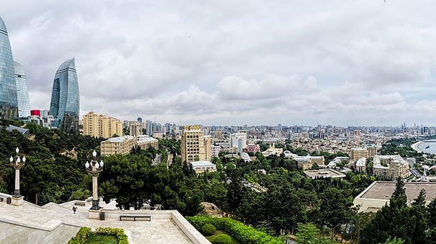 Amazing view of Baku city from Dagustu Park | © Dan Lundberg/WikiCommons