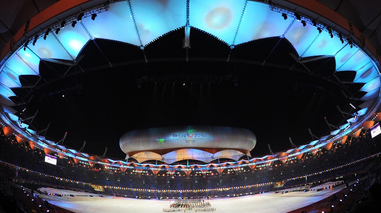 Jawaharlal Nehru Stadium, New Delhi | © Public.Resource.Org / Flickr