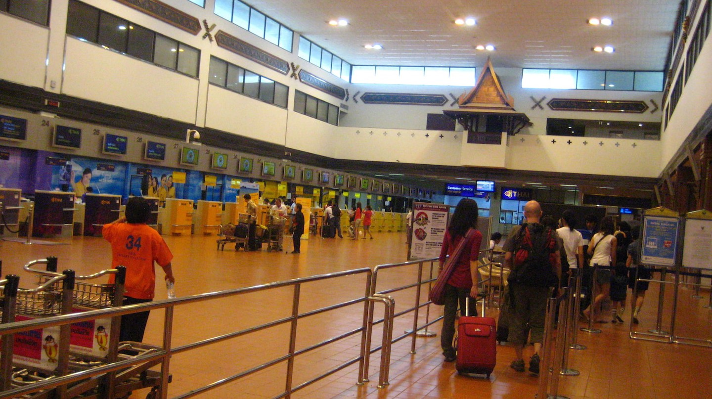 Check-in counters at Don Mueang International Airport | © neajjean/Flickr
