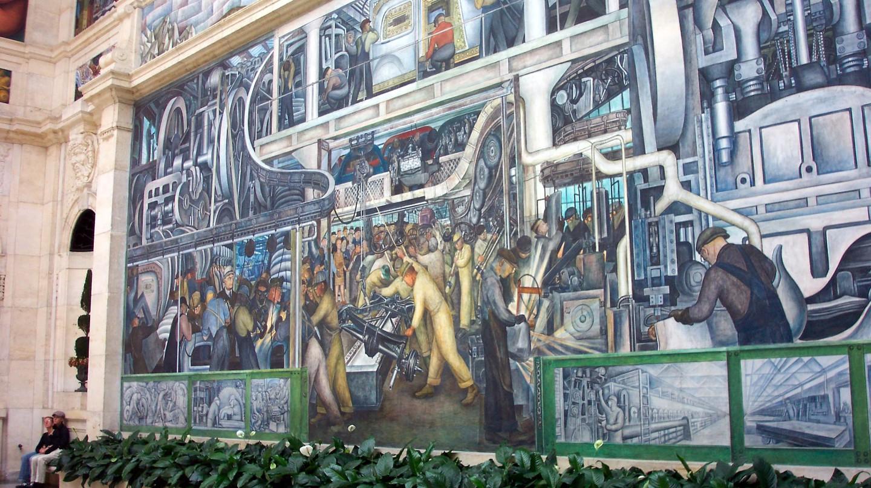 Diego Rivera's 'Detroit Industry' | © Onasill ~ Bill Badzo / Flickr
