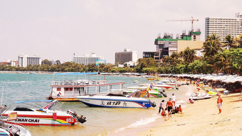 Pattaya beach | © Mohd Faisal Md Noor/Flickr