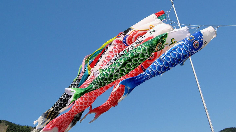Koi-nobori, Nagawa, Nagano, Japan | © yeowatzup / Flickr