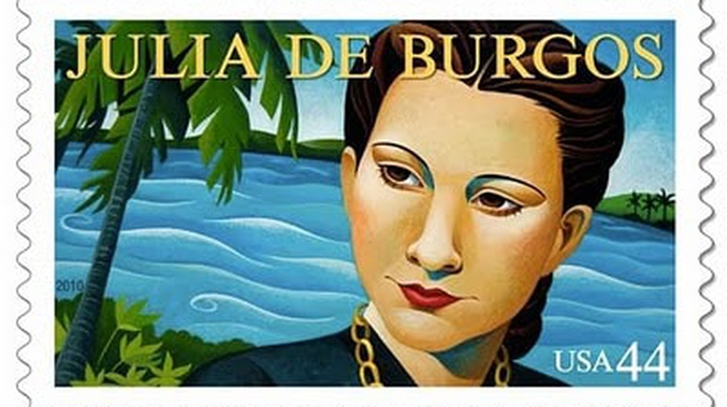 Julia de Burgos USPS Stamp released 2010 | © William Arthur Fine Stationery's photostream/flickr