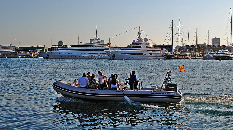 Boats at Valencia's port   Marcela Escandell / Flickr