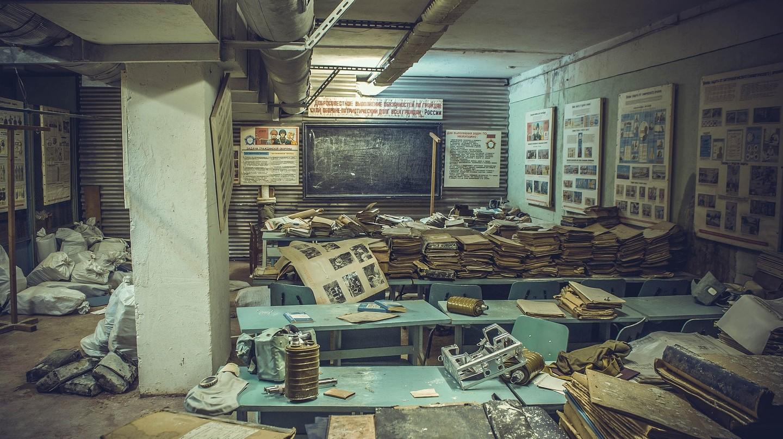 Abandoned Soviet bunker | © 547877 / Pixabay