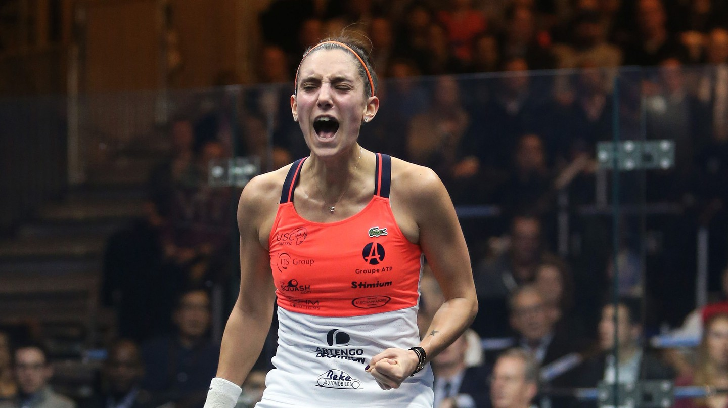 Camille Serme | © Professional Squash Association