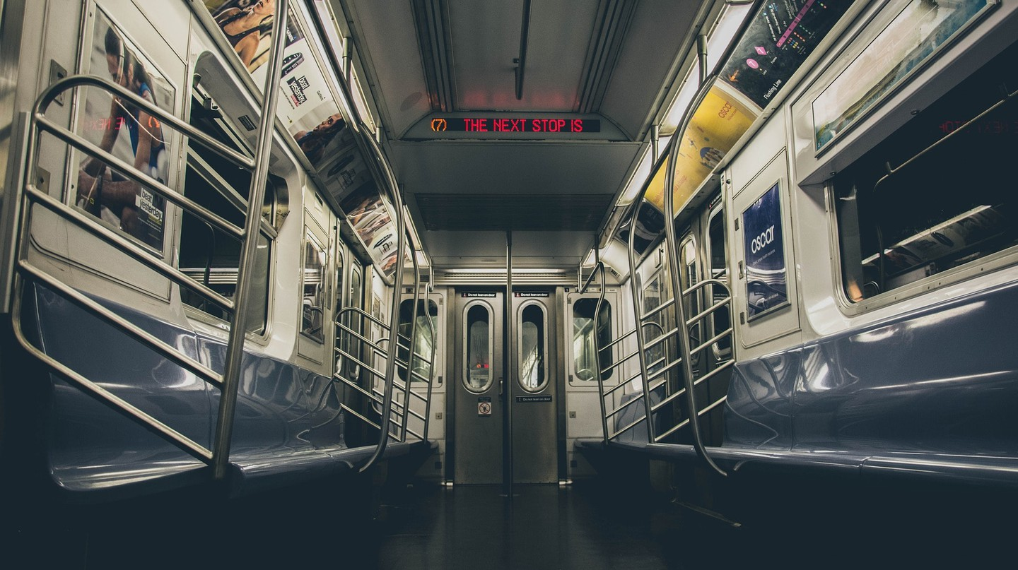 The New York City subway system looking uncommonly clean | © igorovsyannykov/Pixabay